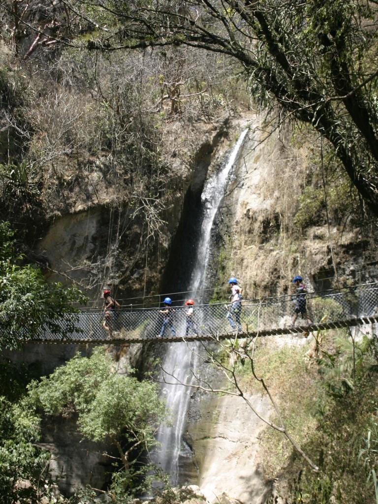 La Reserva Natural Atitlán combina el turismo de aventura con la conservación del ambiente.