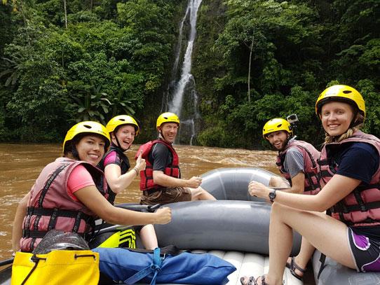El rafting es una buena oportunidad para aprender trabajo en equipo. Foto: Manuel García/Viatori