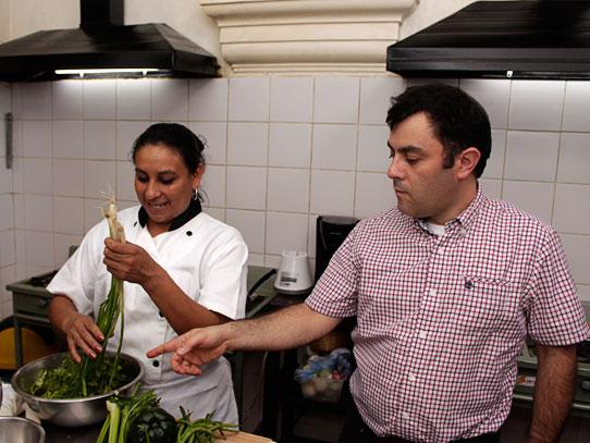 Leidi Sandoval y Luis Prieto hacen de esta experiencia algo entretenido y agradable. Foto: Jorge Rodríguez/Viatori