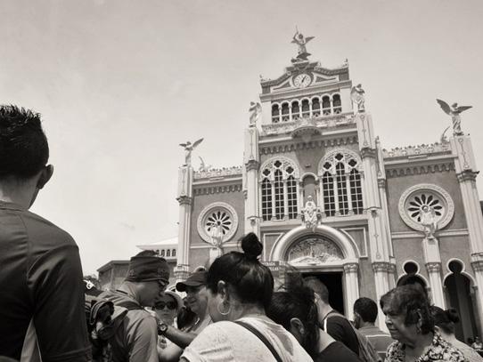 Basílica de Los Ángeles, Cartago, Costa Rica. Foto: Nathalie Vigia/Viatori