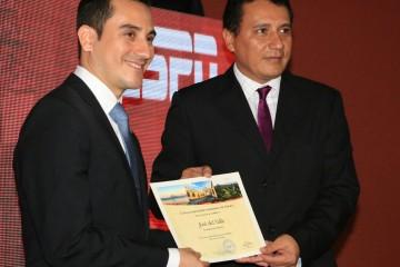 José Del Valle y Jorge Mario Chajón, Director INGUAT. Foto: Adrián Ramos/INGUAT