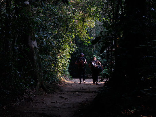 Viajar de mochilero es vivir nuevas experiencias. Foto: Jorge Rodríguez/Viatori