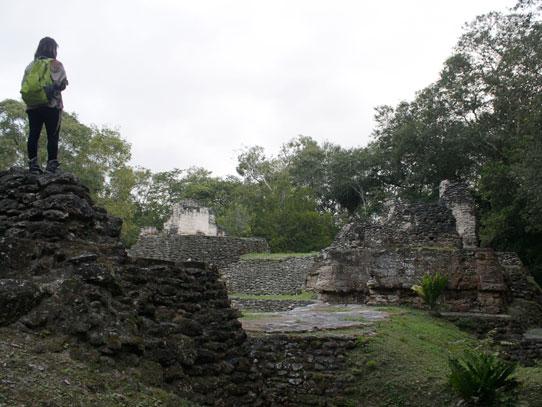 Sitio arqueológico Uaxactún, Petén. Foto: Jorge Rodríguez/Viatori