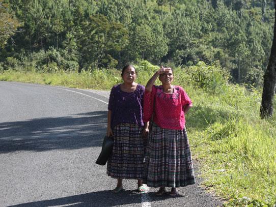 La etnia maya q'eqchi' es la que predomina en esta zona de Guatemala. Foto: Jorge Rodríguez/Viatori
