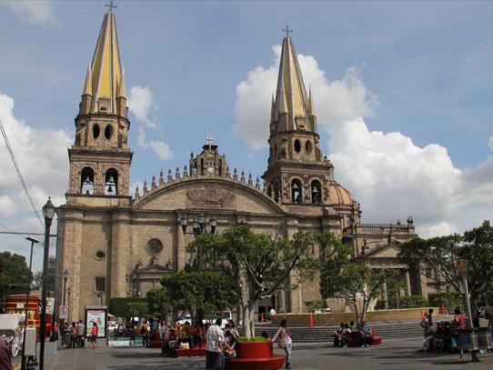 Catedral de Guadalajara. Foto: Manuel García/Viatori