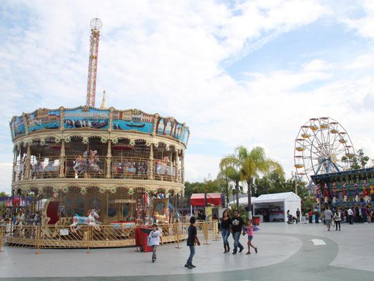 Feria en el auditorio de Guadalajara. Foto: Manuel García/Viatori