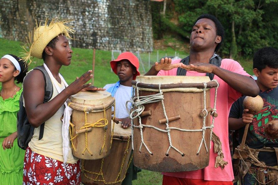 La música es parte del día a día de los garifunas. Foto: Adrián Ramos/INGUAT