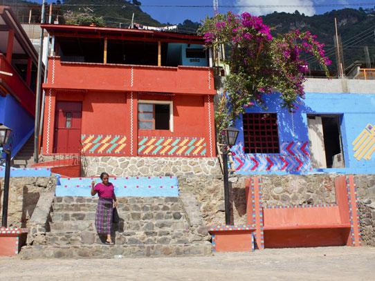 En un año todas las paredes de Palopó lucirán de esta manera. Foto: Jorge Rodríguez/Viatori