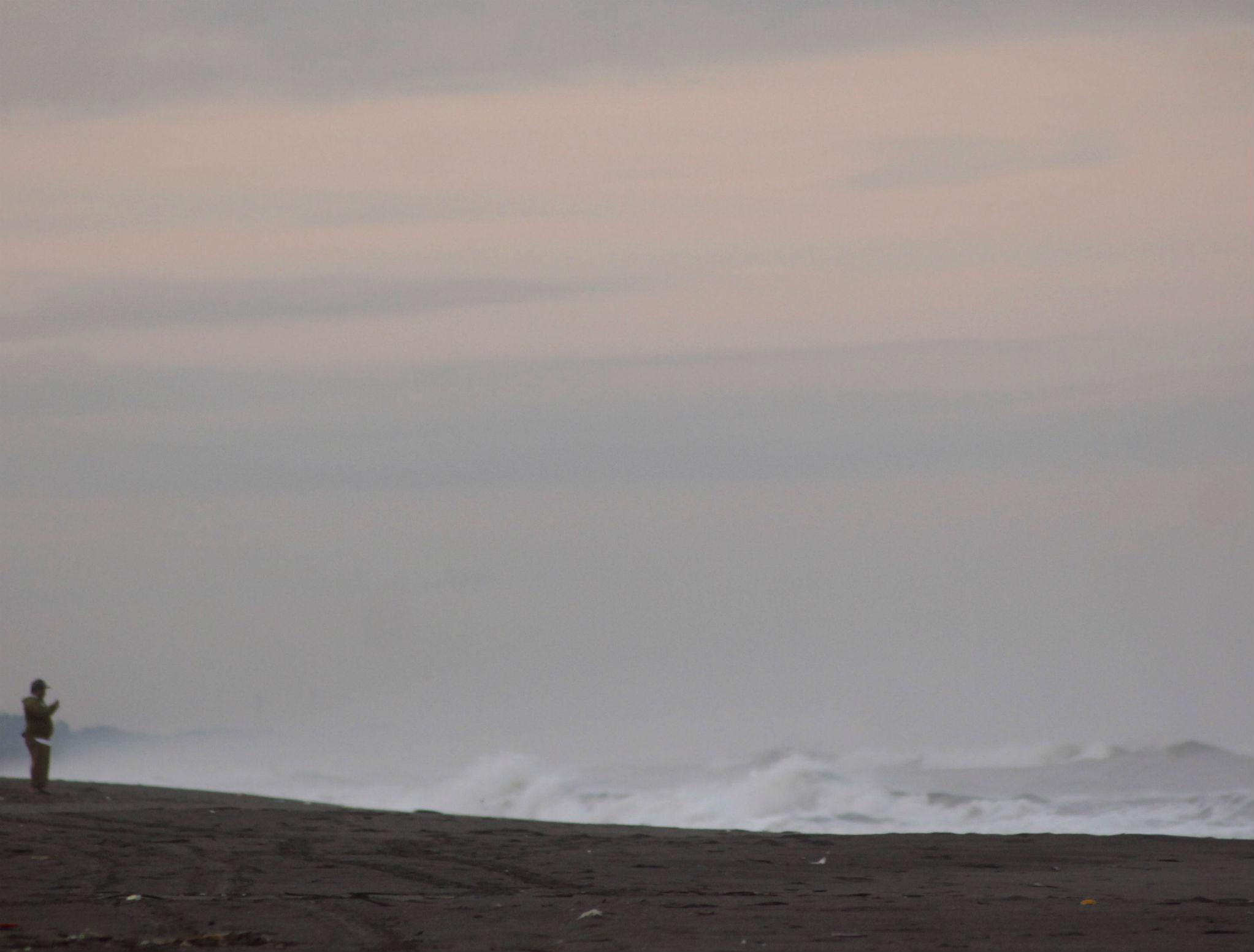Amanecer en playa Tilapa