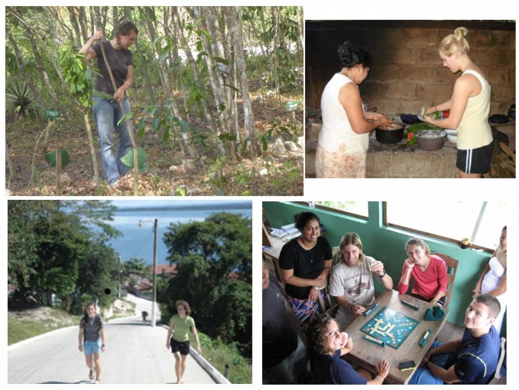 La Asociación Bio-Itzá ofrece experiencias de convivencia y aprendizaje a las personas interesadas en conocer acerca de la cultura de los Maya Itzá. Foto: Asociación Bio-Itzá.